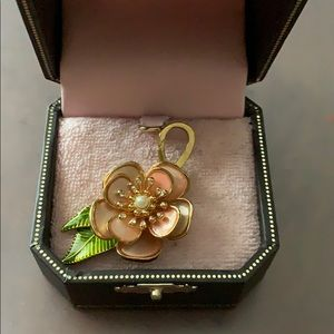 Juicy Couture flower charm